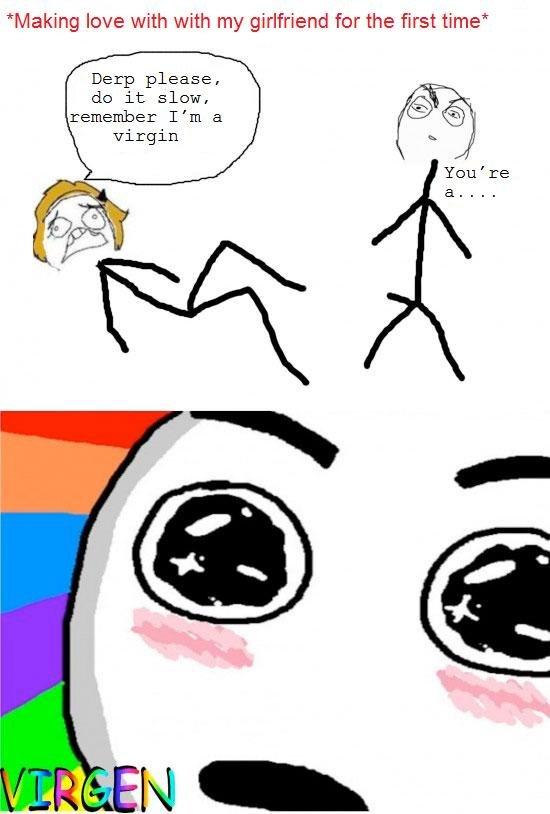 Virgin make love first time