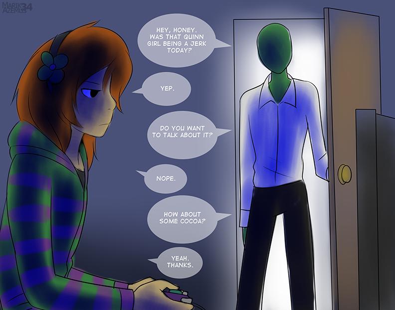 """Vivian?"". .. >4chan being a caring father Vivian James Quinnspiracy Zoe Quinn v 4Chan"