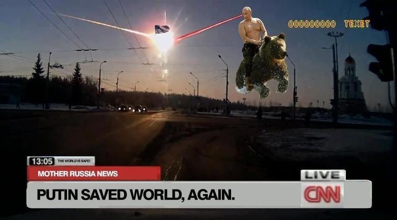 Vladimir Putin. Not OC, found on FB.. putin fuck yeah niggers arent Real