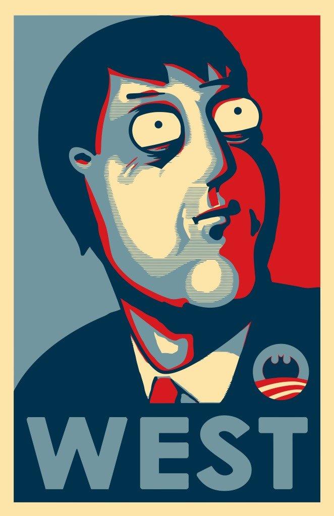 Vote for Adam West. .