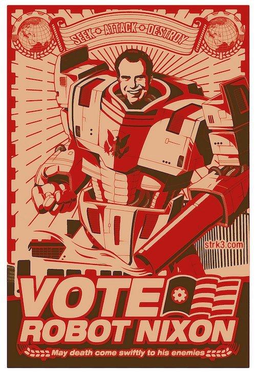 Vote For Me!. . Will . NIXON