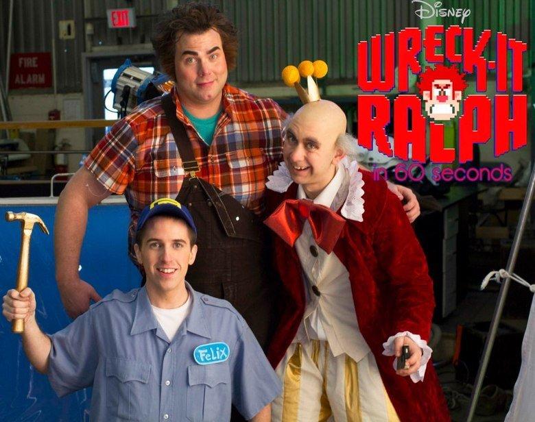 W-I R. Wreck-it Ralph short soon on Youyube - Megasteakman Channel.
