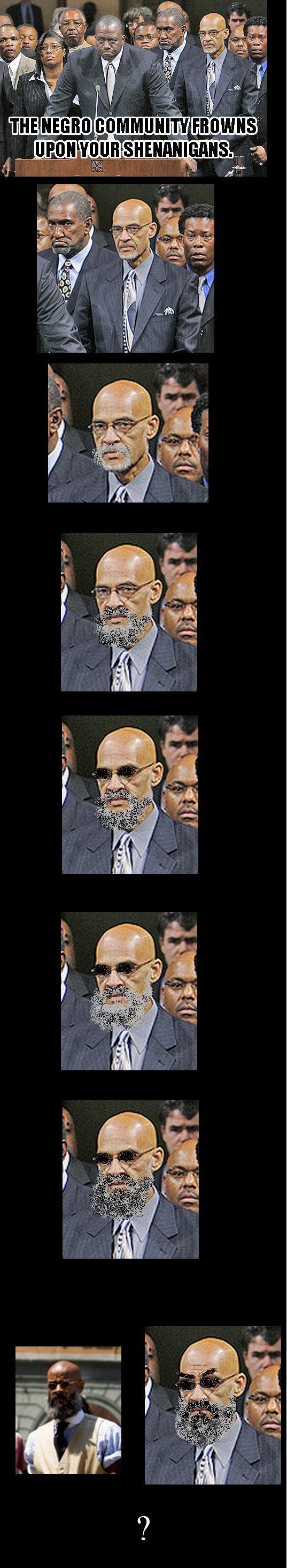 Wait wut?. Professor Badass frowns... PROFESSOR BADASS DOES NOT APPROVE. professor Badass negro community frown