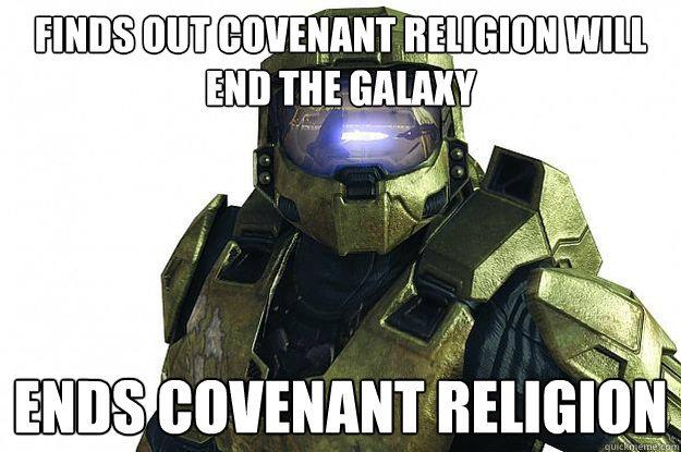 Wake Up, John.. I need a weapon. And a copy of Halo 4.. suns
