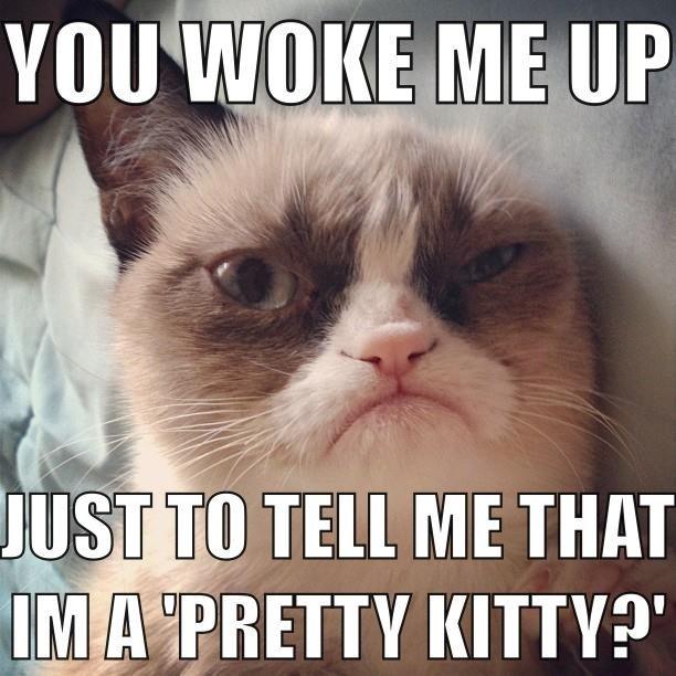 Wake up. . ME nun