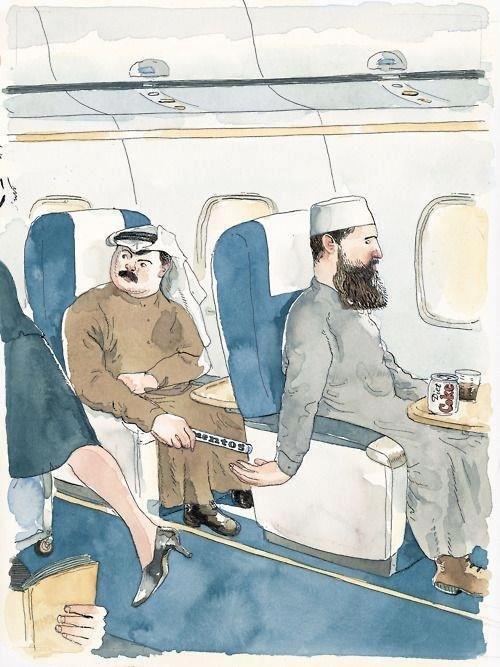 We didn't know!. And Osama said BOOM!.