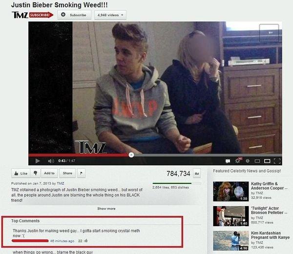 Weed is gay now. Sorry stoners.. Justin Ember Smaking Weed!!! Sall id Mara . rael 3... smoking weed is gay anyway