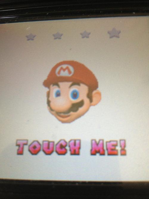 Weird Mario. I don't wanna this.