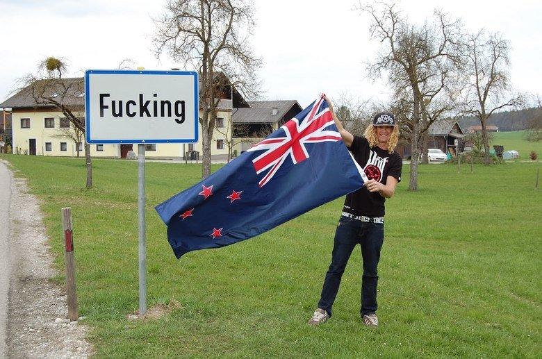 welcome to Fucking. .. yeah austria! fucking town aus