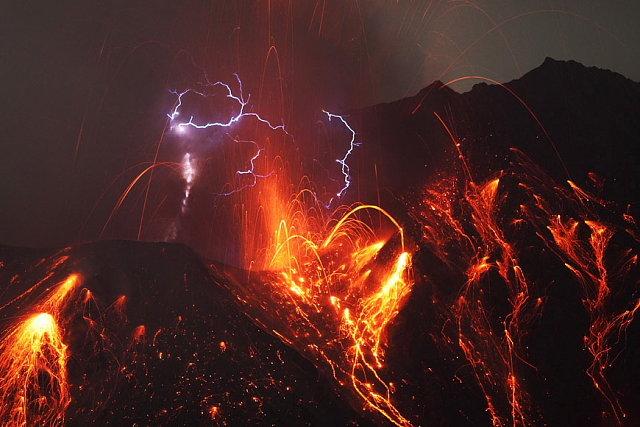 Well shit. Lightning Volcano.. azula and zuko must be fighting again