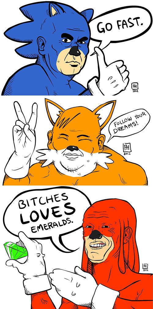 Well.... .. gotta go fest Sonic taildolls knuckles sega gaming weird