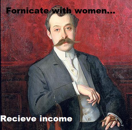 What a gentleman. bitches get money... recieve ouchie