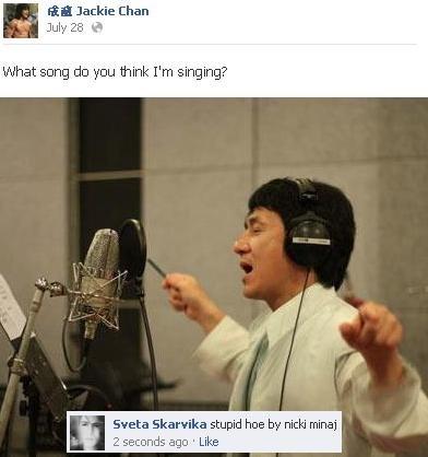 what. . Iii Jackie Chan Like:. Everybody was kung fu fighting?