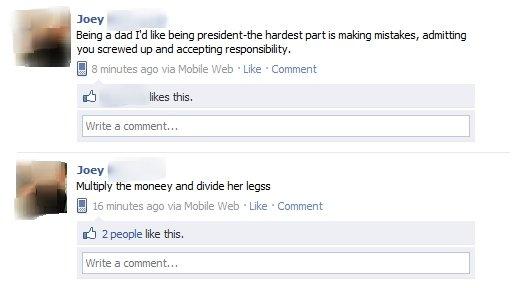 What An Idiot. .
