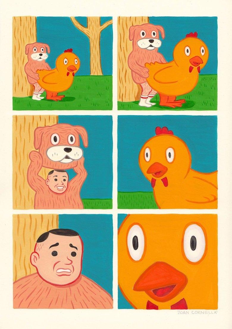 Whatthefuckasaurus. .. duck's expression