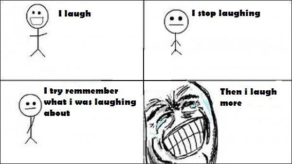 When i laugh. 100% OC!!.