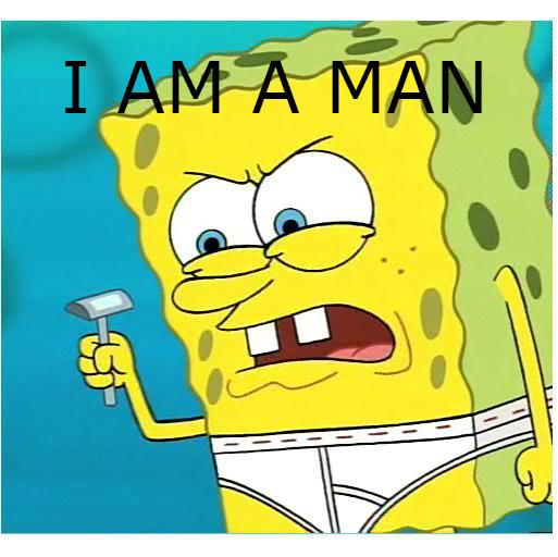 When my mom asks why i need razors.... Story of my life (ignore tags). spongebob troll mom funny hilarious Troll Spongebob