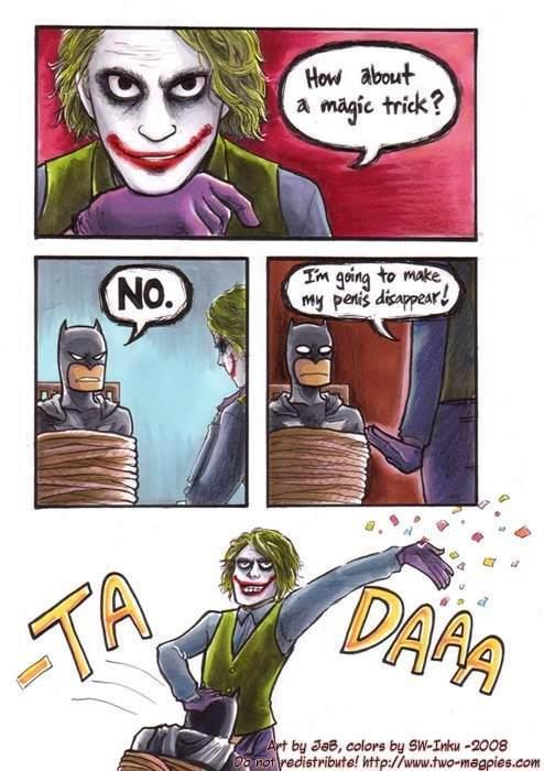 where did it go?. poop noodles, look it up.. Batman wins again