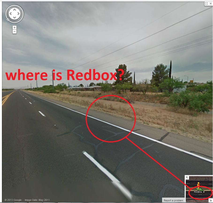 where?. is. RedBox