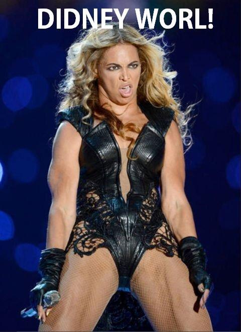 Where you goin', Beyonce?. .. soopder bol