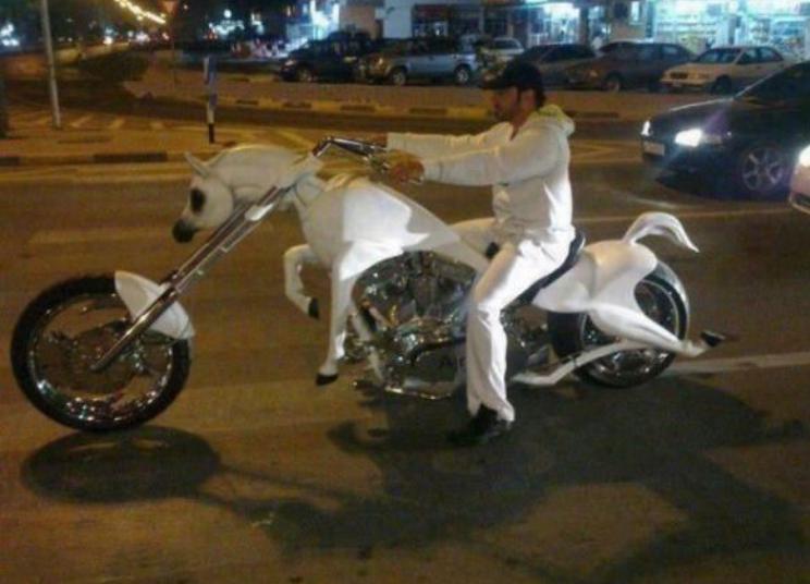 White knight. .