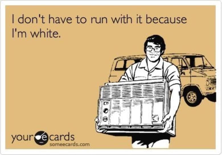 White People. . I don' t hah/ tis to run / rtlb it because I' m white.. looks asian.