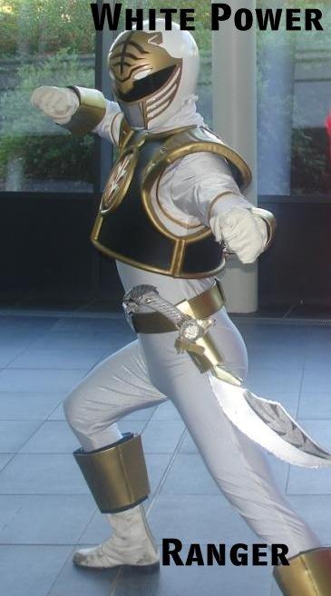 White Power Ranger. All hail the WHITE POWER ranger.. lill - 5 Laq ilyt iial ltot. melon muncher pinkie