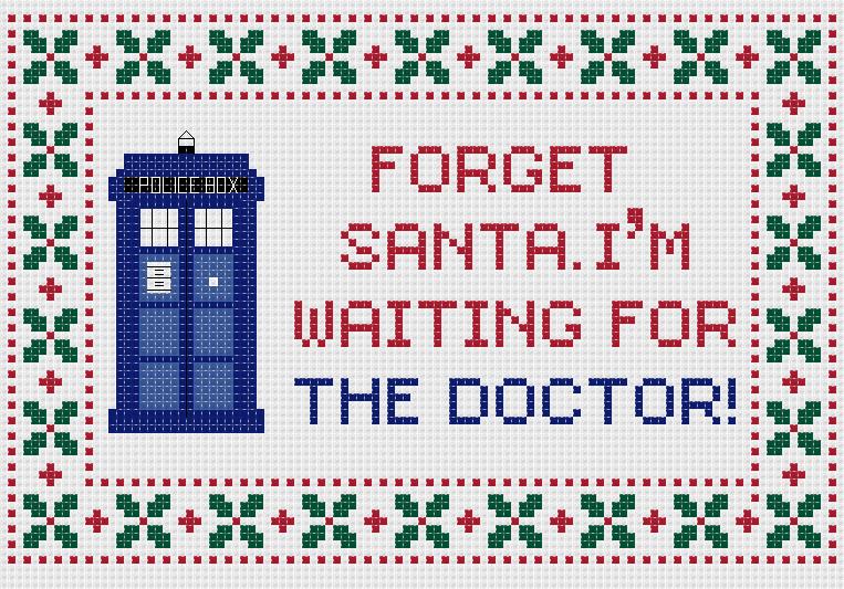 Доктор кто схема вышивки 1