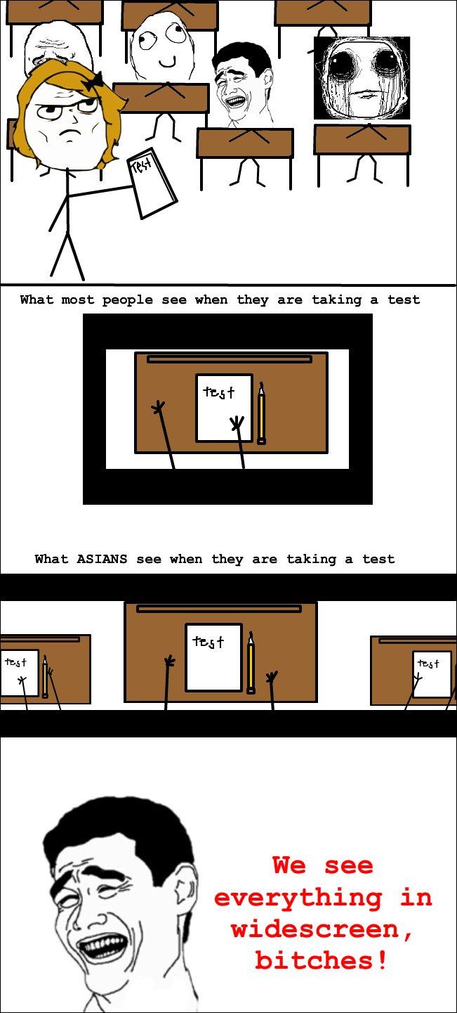 why asians get good grades