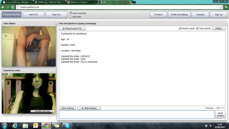 sjekkesider random video chat