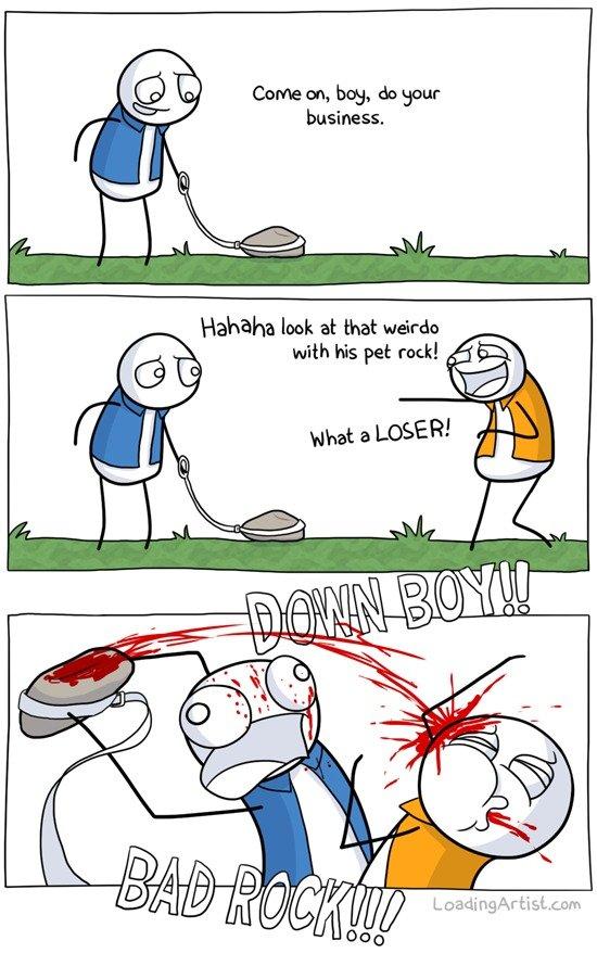 Why I want a pet rock. Dem tags.. Dat Repost