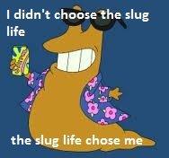 Why not, everyone else is doing it. . Ididn' t chains the slug life ii, if as La, 151 F the slug We chose me
