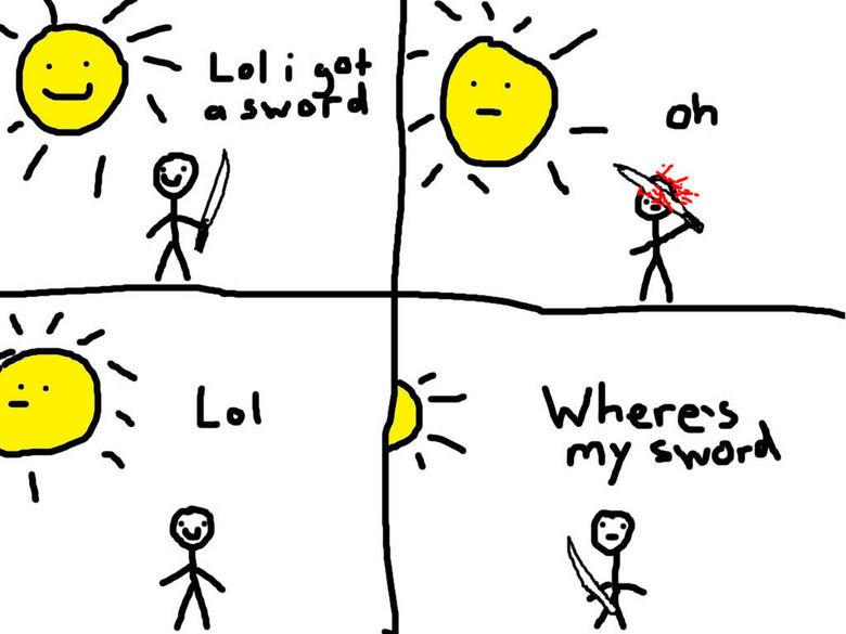 Why I shouldn't draw comics. ..... lolwut