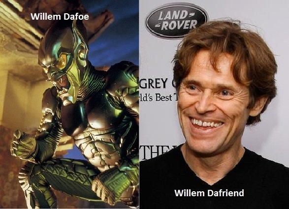 Willem Defoe. .. Willem Darape