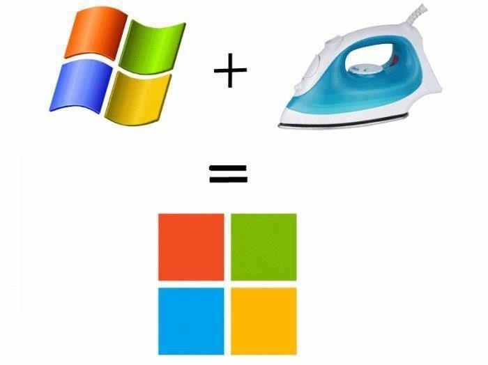 Windows logo. .