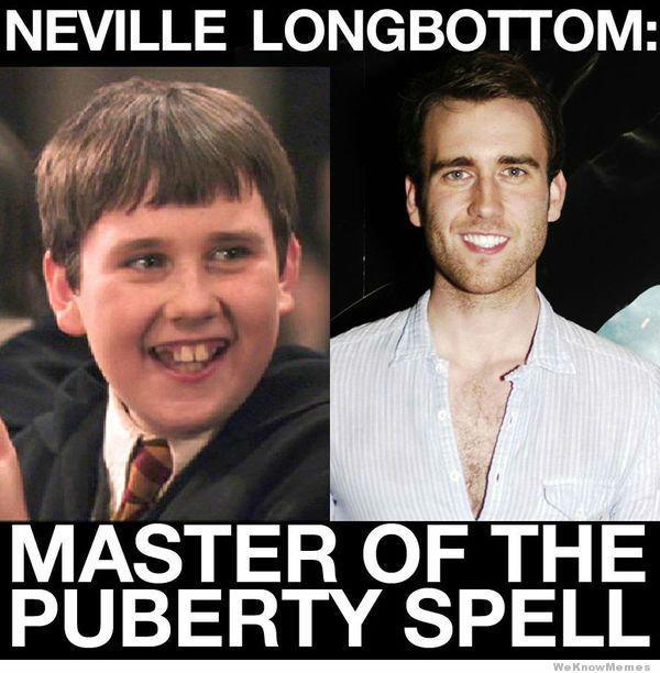 Wingardium Pubertyosa!. . NEVILLE :