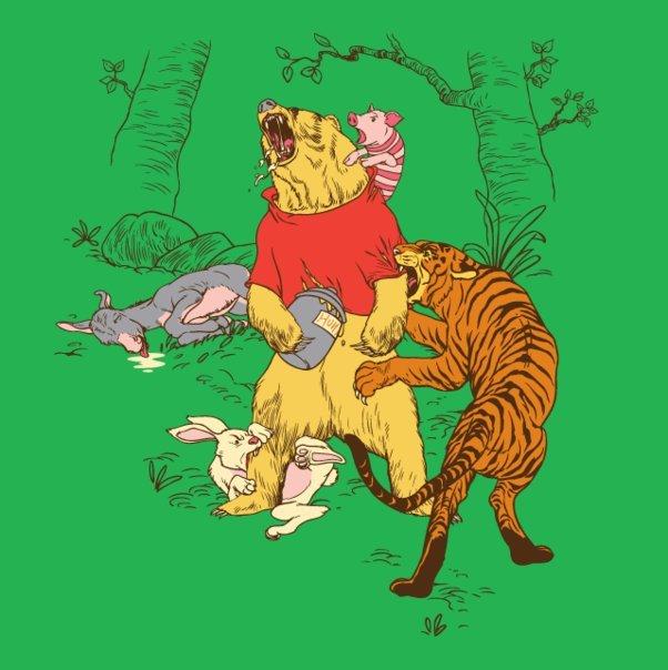 Winnie the pooh: Reality version. .