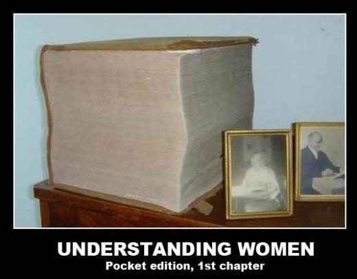 Woman's logic... . UNDERSTANDING WOMEN Packet edition, 1 st chapter understanding woman first chapter pocket edition