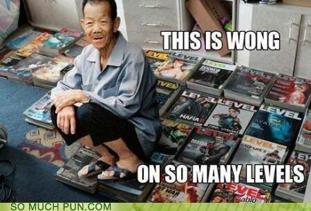 Wong. .. Really?