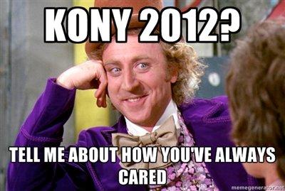 Wonka on Kony. TSIA OC by Hooch. Tell ME Kony Wonka