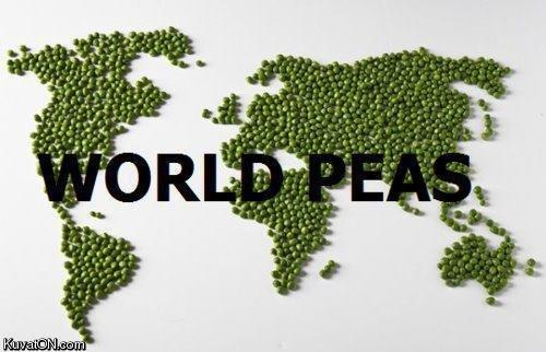 World Peace. Peace!.