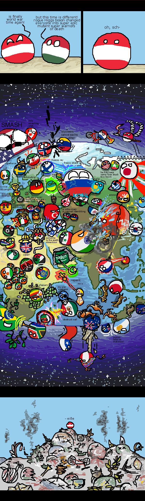Polandball ww3