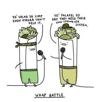 Wrap battle.. Ooooh .. Thh HEB rum ttf I-' mural. so BATTLE