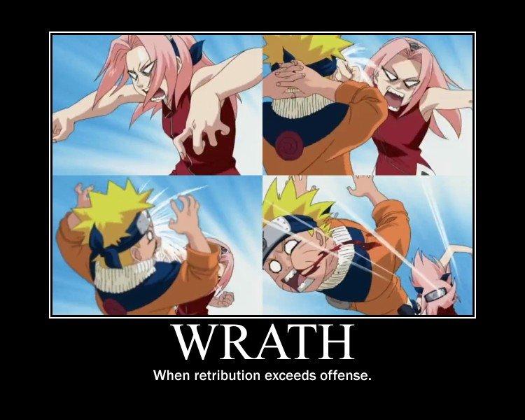 Wrath: Sakura. Sakura and her infamous temper.. When retribution exceeds offense.