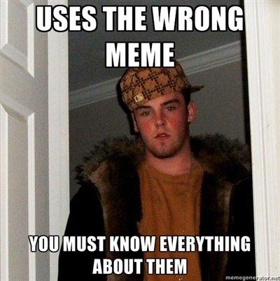 "Wrong memes. yes. ms m whom: MEME ill.:,. VIII] MIST "" EVERYTHING r i THEM no"
