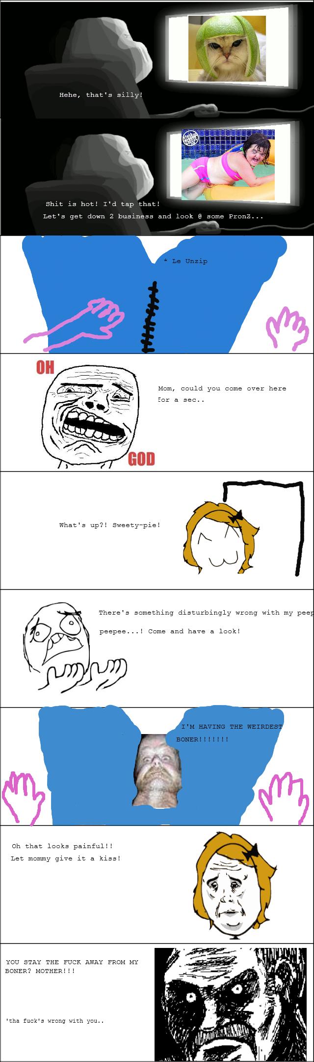 WTF, mom!!. .