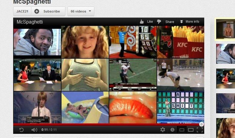 WTF YouTube?. tags. Mcspaghetti