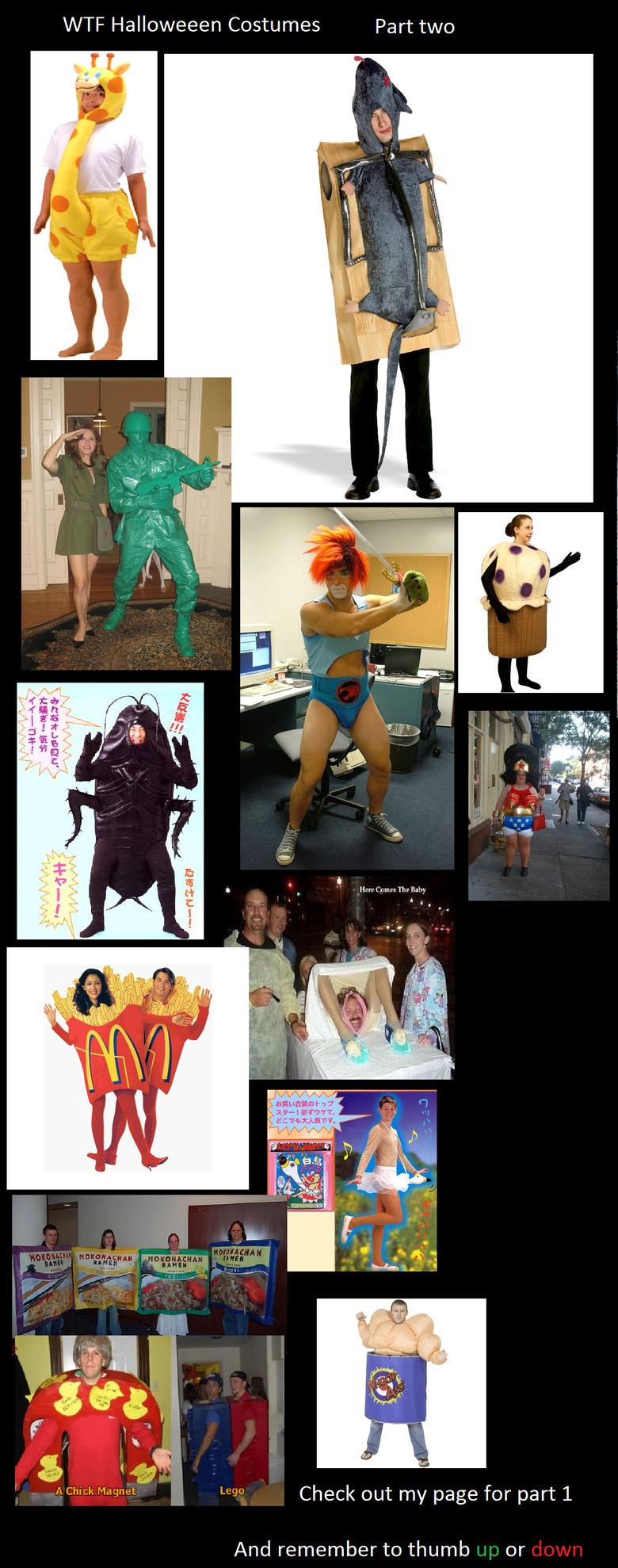 WTF Halloween Costumes 2. Check out more compilations on my page xD.. THUNDERCATS, HOOOOOOOOO!!!!