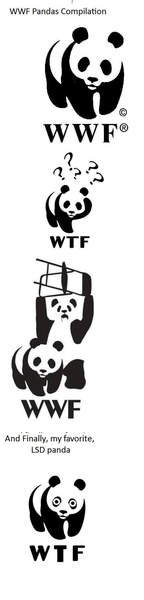 WWF Pandas. . WWF Pandas Compilation LSD panda. yeah