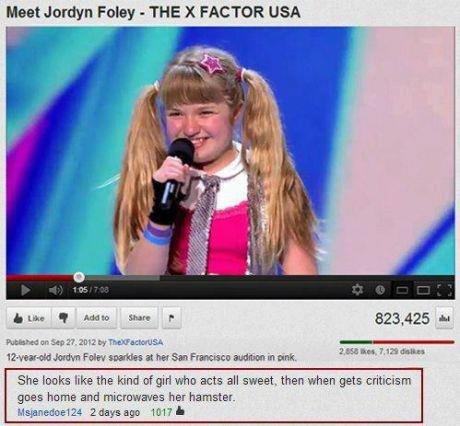X factor. XD I laughed so hard..